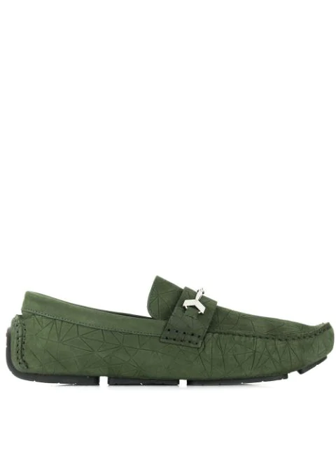 Jimmy Choo Brewer Loafers In 绿色