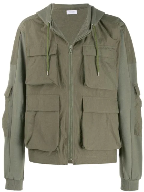 John Elliott Flap Pocket Jacket - Green