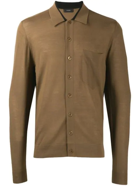 Joseph Schmaler Cardigan - Braun In Brown