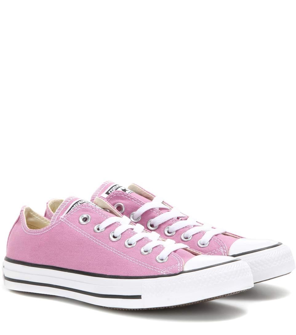 Converse Chuck Taylor® Low Sneaker (Women) In Pink