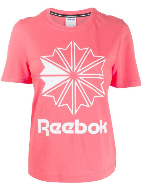 Reebok Brand Logo T-shirt - Orange