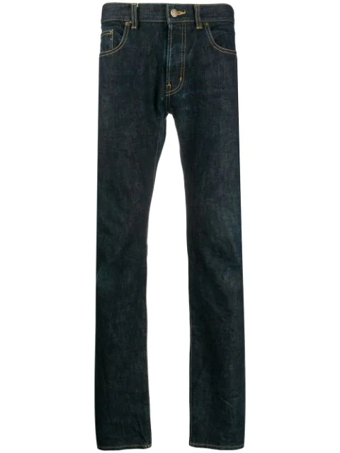 Saint Laurent 2010's Skinny Jeans In Blue