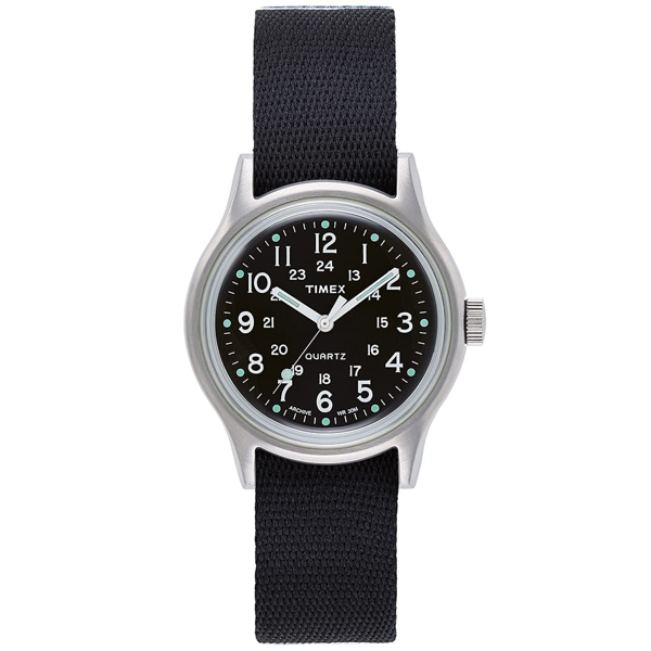 Timex Archive Camper Mk1 Stainless Steel Watch In Black