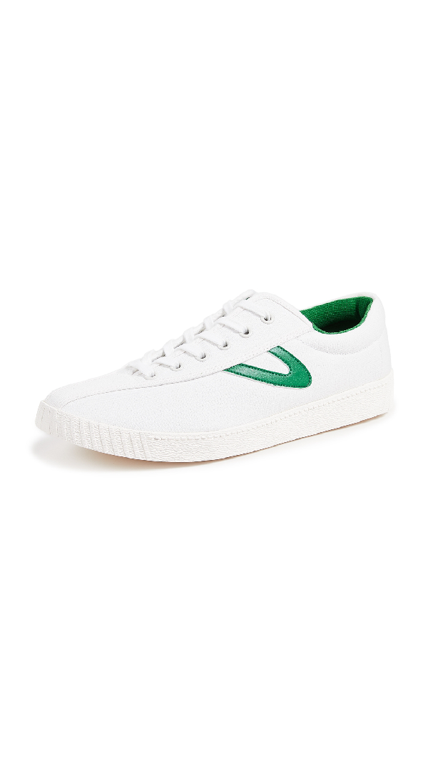 ee3eba5e1 Tretorn Men's Nylite Plus Lace Up Sneakers In White/Green | ModeSens