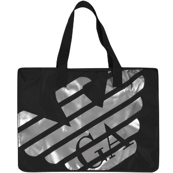 Armani Collezioni Emporio Armani Beach Bag Black