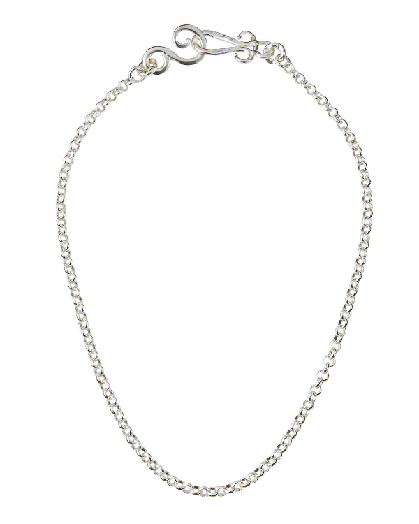 """Stephanie Kantis Aquarian Chain Necklace, 18""""l In Silver"""