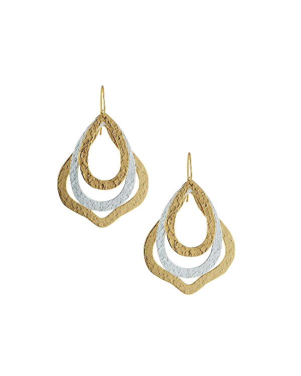 Stephanie Kantis Paris Thrill Layered Drop Earrings In Multi