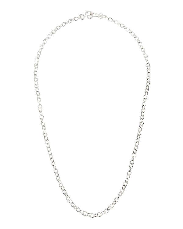 "Stephanie Kantis Tudor Silver Chain Necklace, 36""l"
