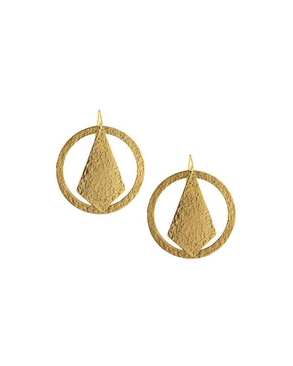 Stephanie Kantis Paris Chic Drop Earrings In Gold