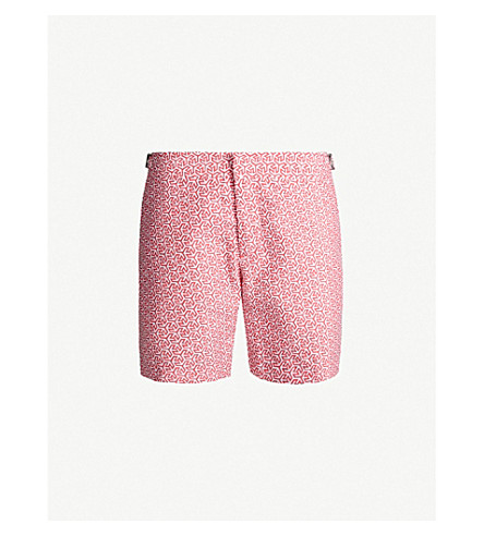 Orlebar Brown Bulldog Swim Shorts In Pink