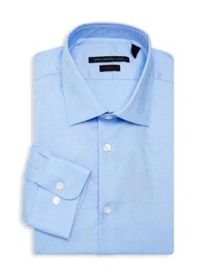 John Varvatos Soho Slim-Fit Dress Shirt In Atlantic Blue