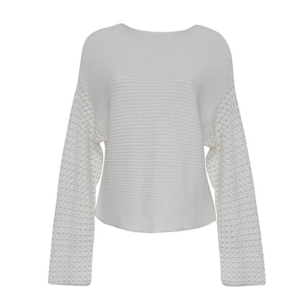 Eleven Six Faye Sweater - White