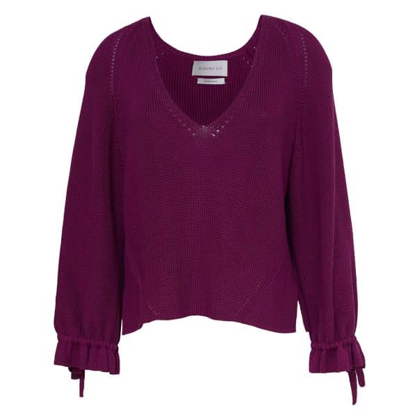 Eleven Six Elsi Sweater - Violet