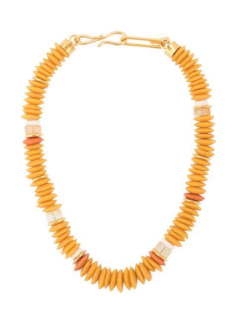 Lizzie Fortunato Laguna Necklace In Yellow