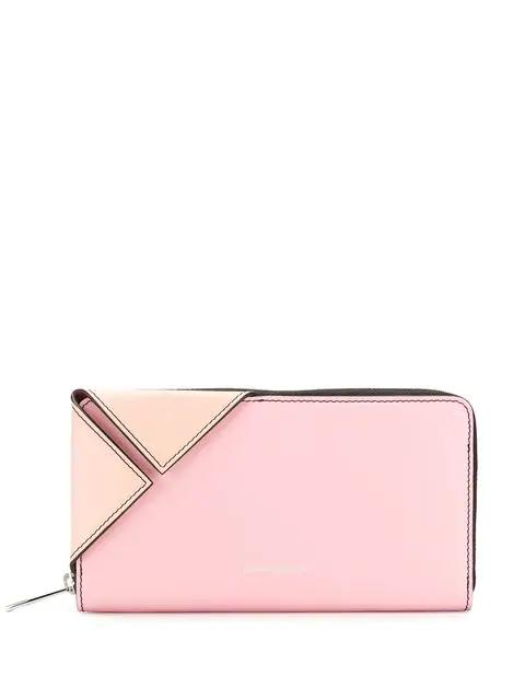 5219addfa343e Alexander Mcqueen Folded Corner Wallet - Pink | ModeSens