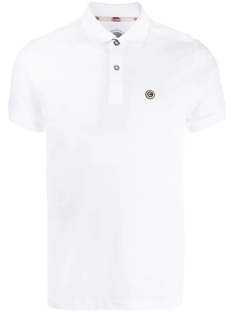 Colmar Chest Logo Polo Shirt In White