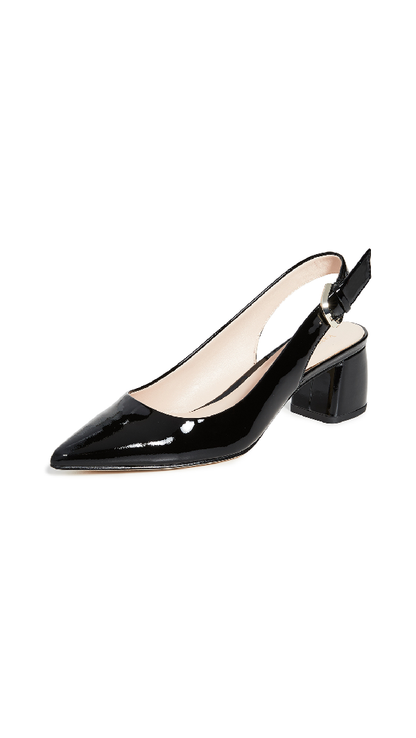 Kate Spade Women's Mika Pointed Toe Slingback Pumps In Black