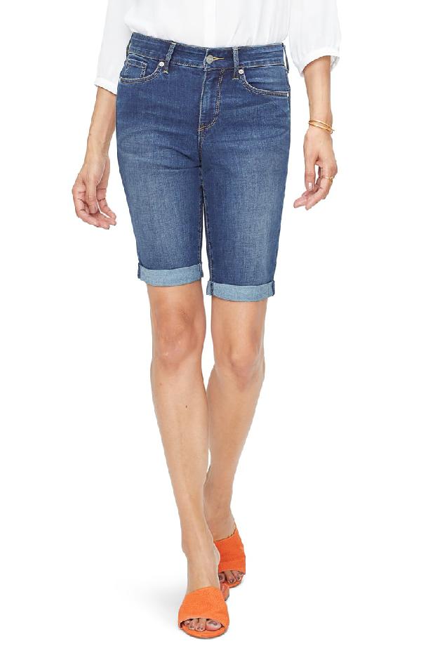 cb4eef77fc Nydj Briella Roll-Cuff Denim Shorts In Junipero   ModeSens