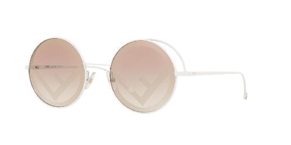 Fendi Woman  Fn000419 -  Frame Color: White, Lens Color: , Size 53-20/135