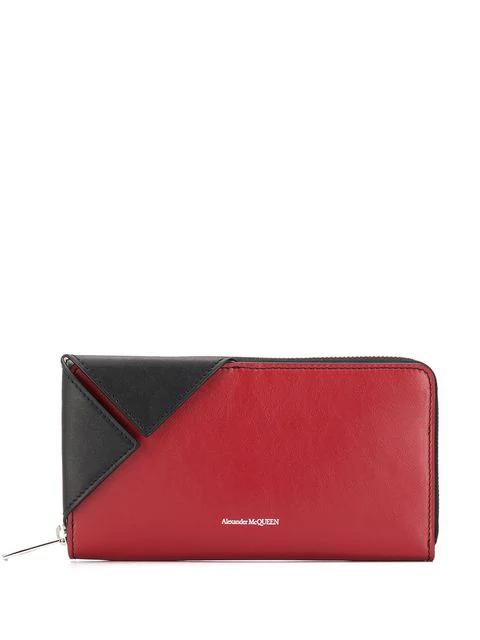 78d82773827cf Alexander Mcqueen Folded Corner Wallet - Red | ModeSens