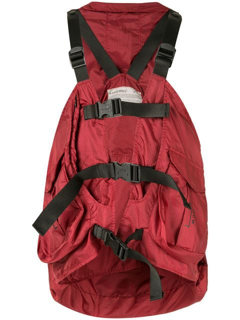 A-Cold-Wall* Military Styled Harness - Red In Sc45 Red