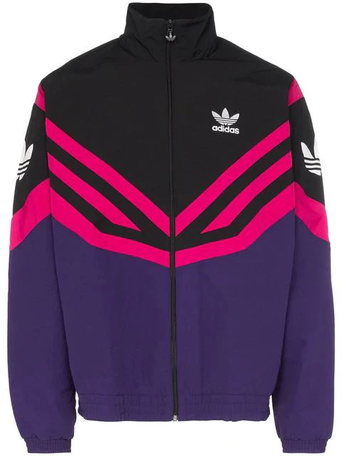 ADIDAS ORIGINALS Purple + Pink Track JACKET NEW