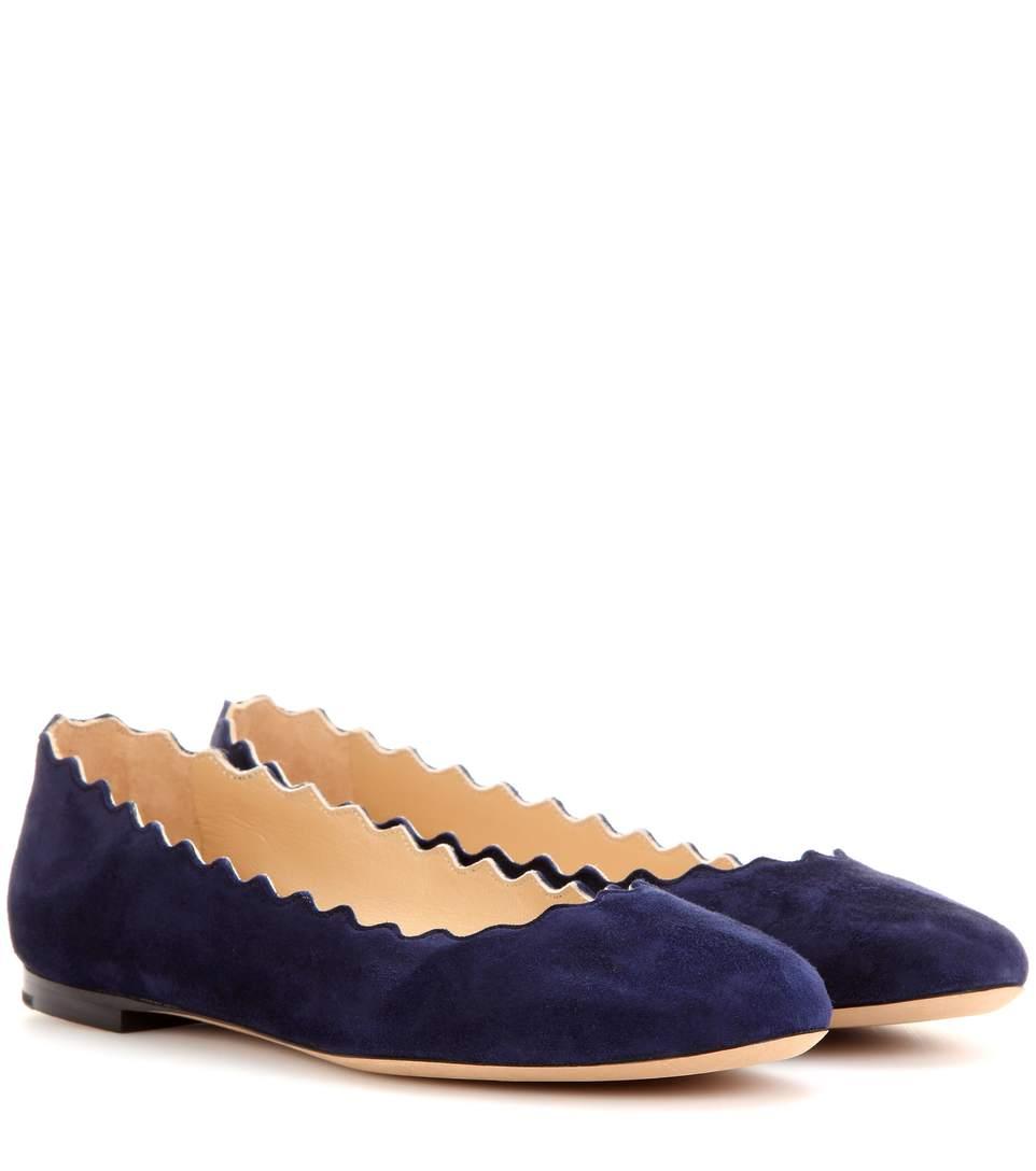 ChloÉ Women's Lauren Ballet Flats In Blue
