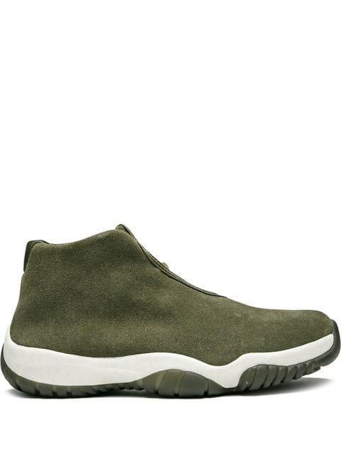Jordan Wmns Air  Future Sneakers In Green