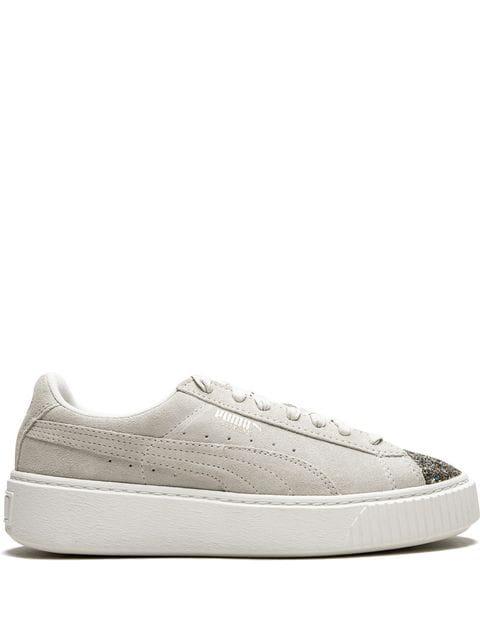 Puma Platform Sneakers In Neutrals