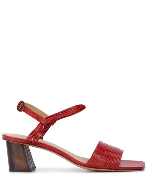 Mari Giudicelli Vitta Sandals In Red