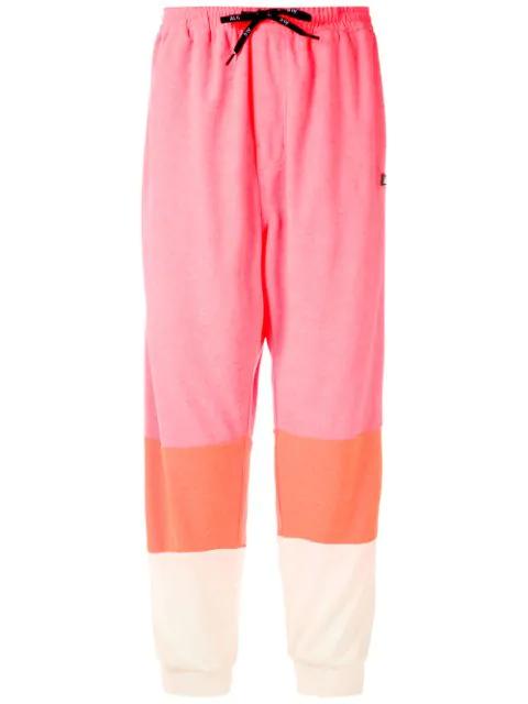 ÀLg Colour Block Track Pants - Pink