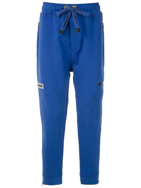 À La Garçonne + Hering Felix Sweatpants In Blue