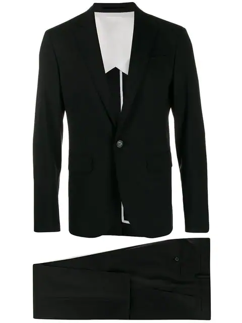 Dsquared2 Tailored Two Piece Suit - Black