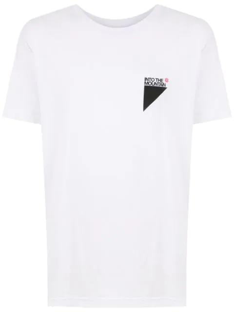 Osklen Printed T-shirt In White