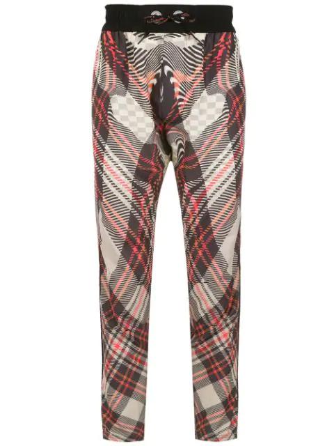 À La Garçonne + Olympikus Check Pants In Multicolour
