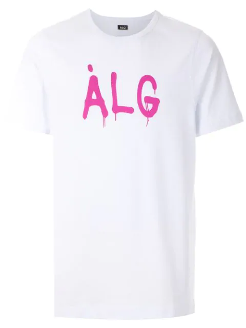ÀLg Painted Logo T-Shirt - White