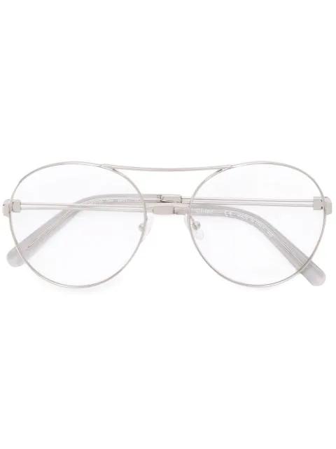 ChloÉ Jacky Glasses In Metallic