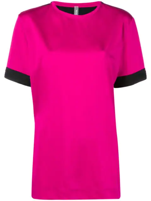 No Ka'oi Two Tone Sports Top In Pink