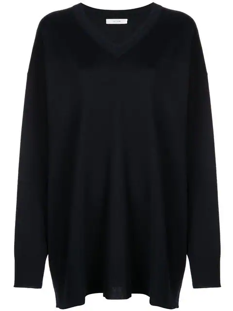 The Row Oversized Jumper In Blue