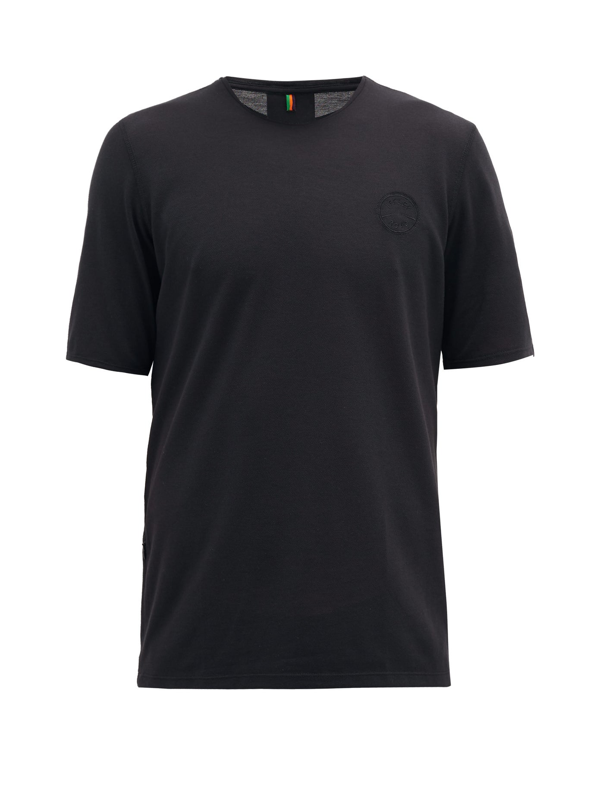 Iffley Road Cambrian Piqué T-shirt In Black