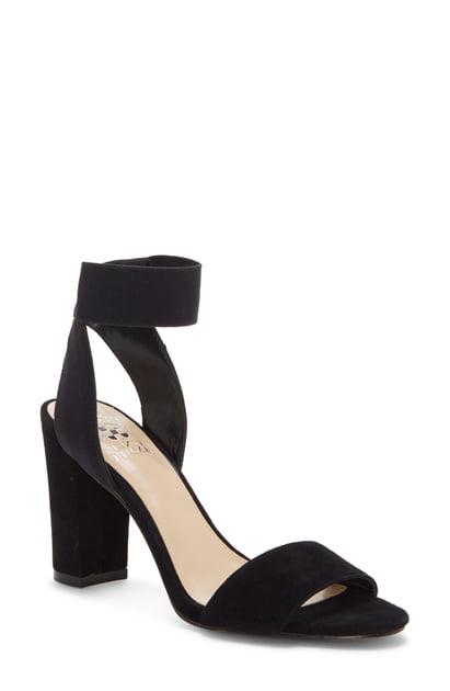 Vince Camuto Women's Citriana Suede High-Heel Sandals In Black Suede