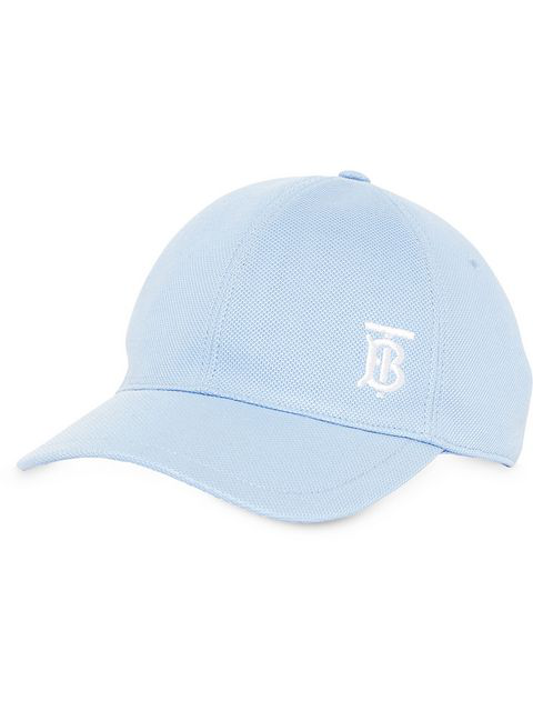 Burberry Blue Monogram Baseball Cap