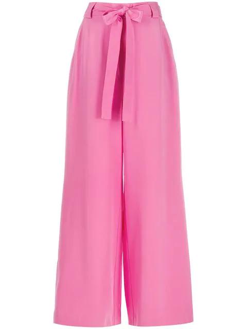 Etro Hose Mit Taillengürtel - Rosa In Pink