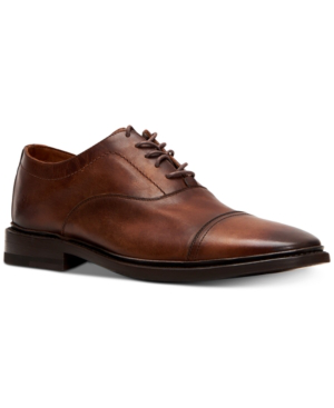 Frye Men's Paul Bal Oxfords Men's Shoes In Cognac