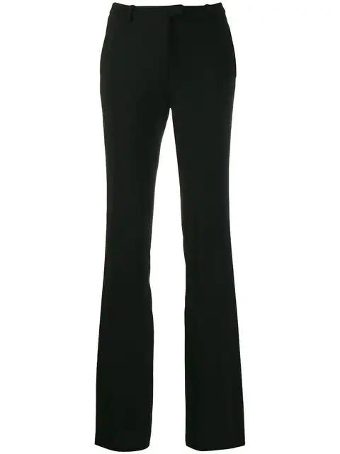Roberto Cavalli Bootcut Tailored Trousers - Black