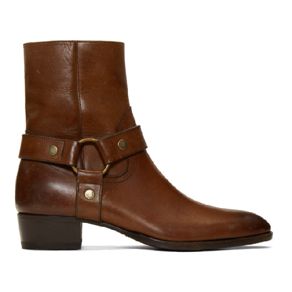 8207ea64e0 40Mm Wyatt Vintage Leather Boots in 6036 Brucia