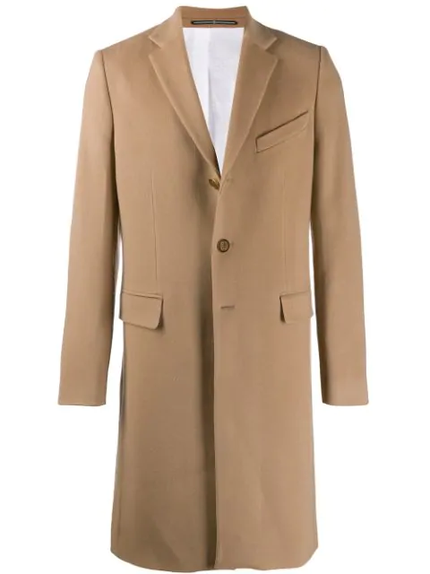 Givenchy Slim-Fit Wool And Cashmere-Blend Coat In 275 Light Beige Camel