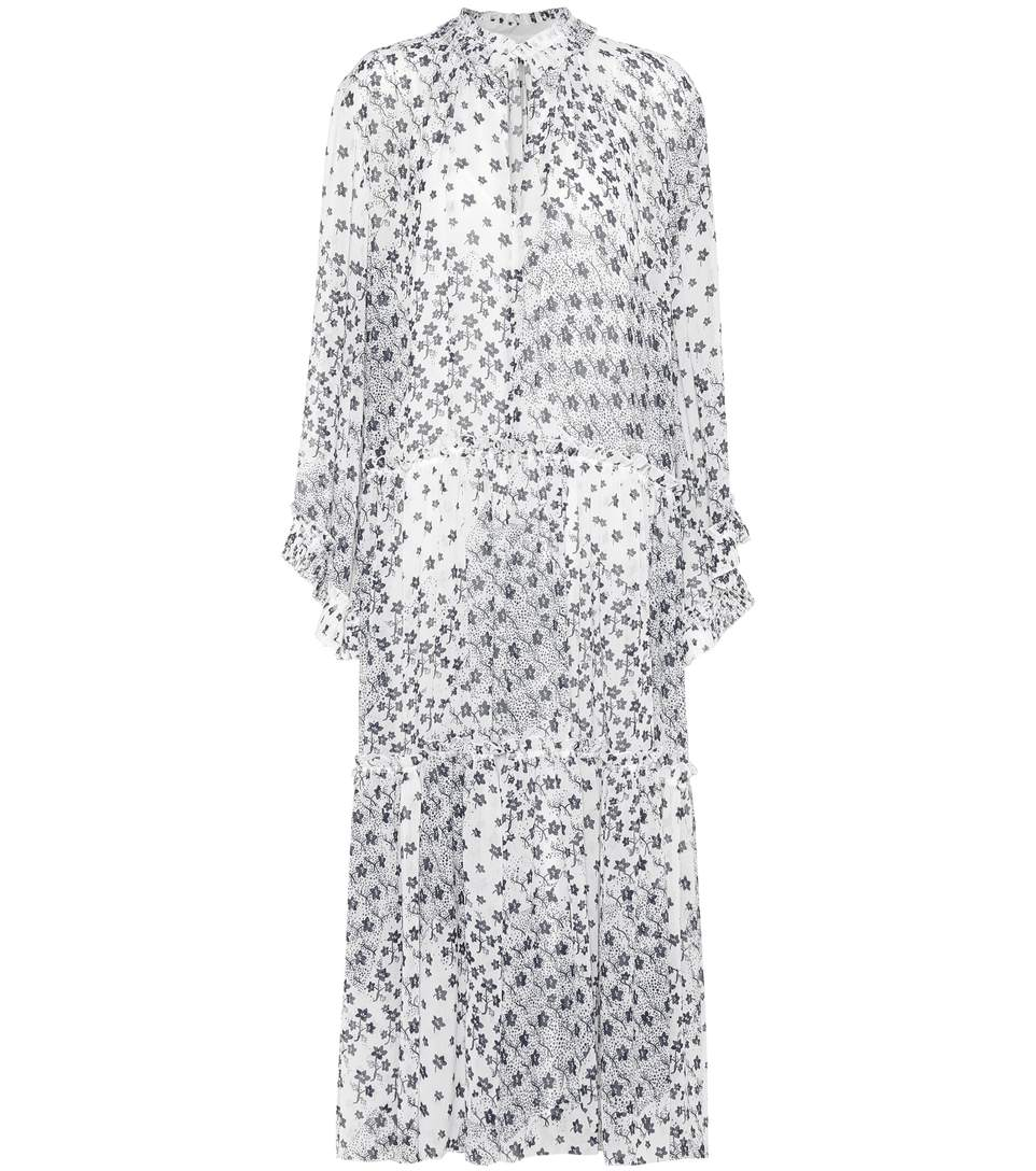 ce0723bf Floral crêpe dress