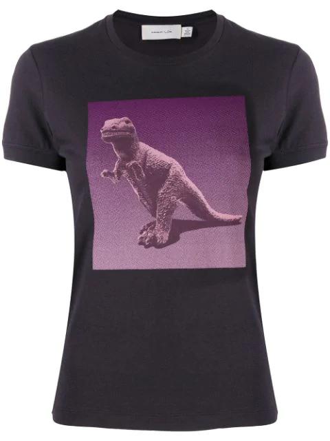 Coach Rexy By Sui Jianguo T-Shirt In Purple