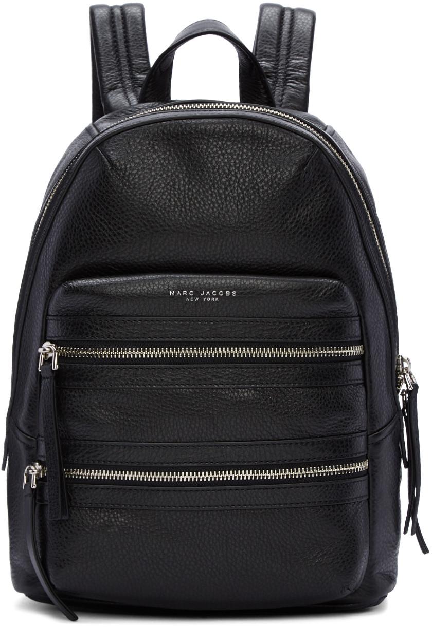 Black Biker Backpack